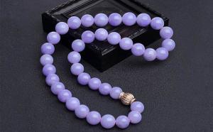 紫罗兰翡翠颜色等级分析,哪种紫色翡翠才值钱?