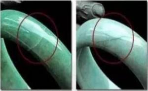 怎么区别翡翠手镯的生长纹与裂纹?