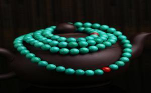 1400万的绿松石108手串珠子分别代表着什么?