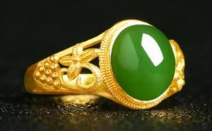 金镶玉戒指好不好?值钱吗?