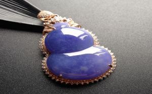 紫色翡翠分几种颜色?翡翠紫罗兰紫色等级图片简介