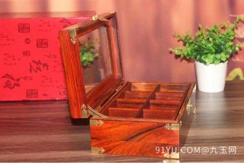 品名:双拎双层首饰盒材质:老挝酸第7张