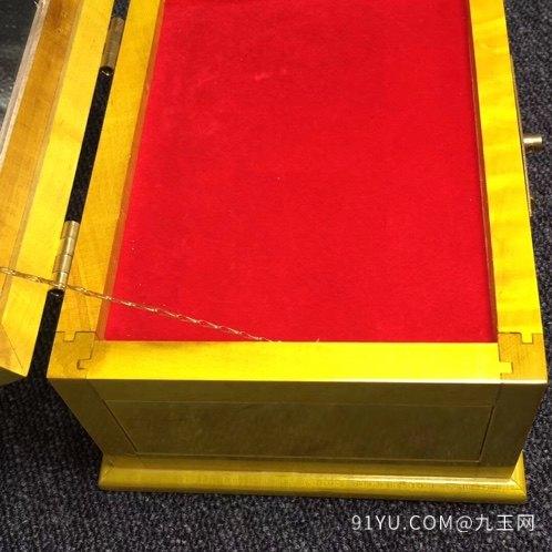 (品名)大叶金丝楠首饰盒(化妆第8张
