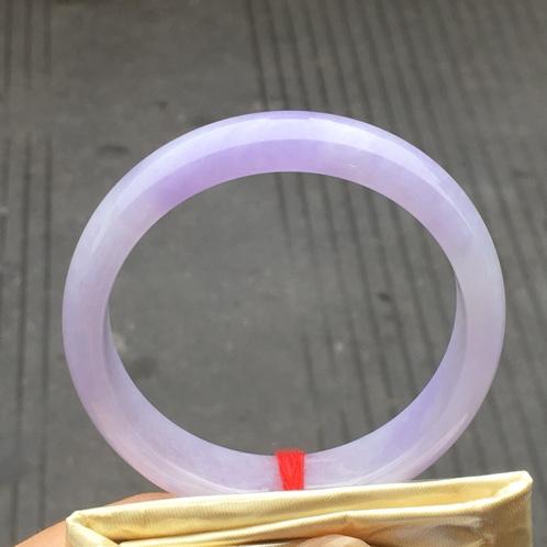 紫罗兰翡翠手镯
