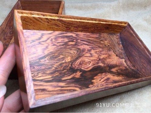 木奢顶级珍藏品经典海黄首饰盒第5张