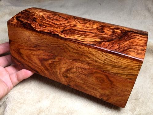 木奢顶级珍藏品经典海黄首饰盒