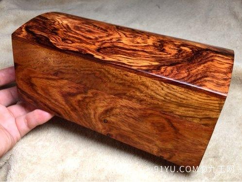 木奢顶级珍藏品经典海黄首饰盒第1张