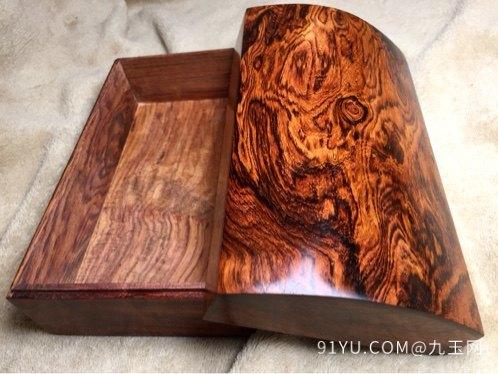 木奢顶级珍藏品经典海黄首饰盒第4张