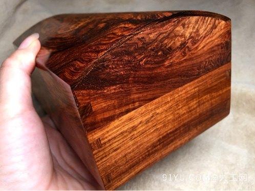 木奢顶级珍藏品经典海黄首饰盒第2张