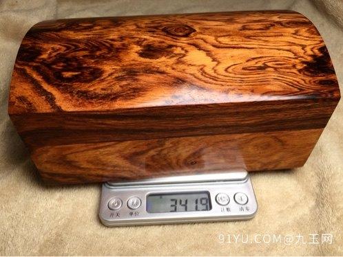 木奢顶级珍藏品经典海黄首饰盒第6张