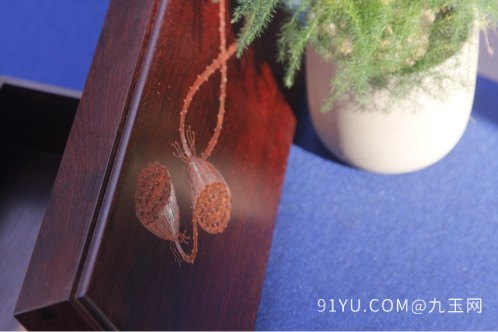 小叶紫檀首饰盒第6张