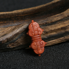 柿子红南红法器配饰