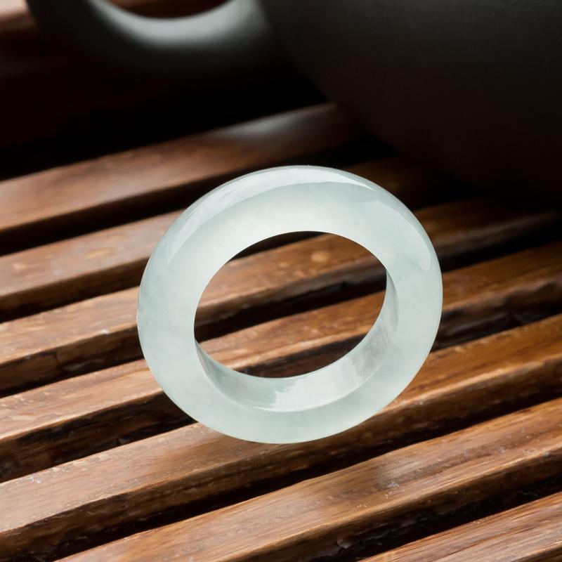 冰种翡翠指环
