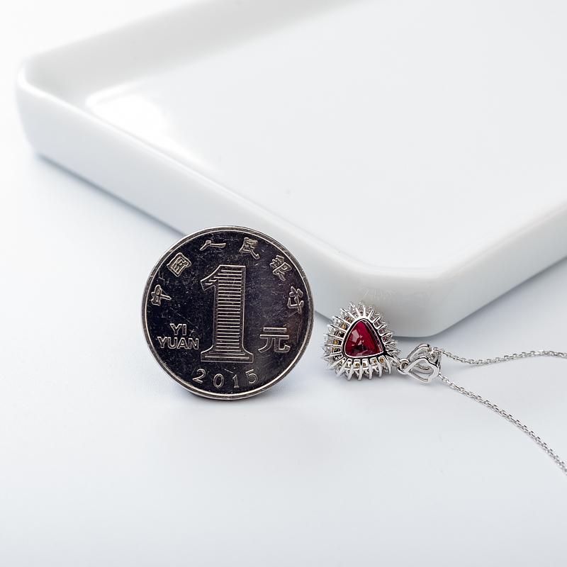 18K鸽血红红宝石项链第4张