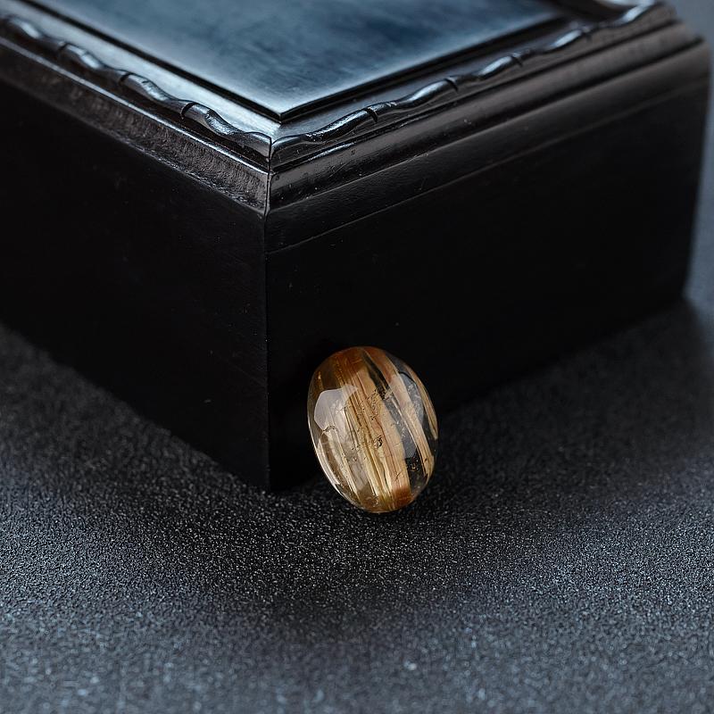 钛金发晶蛋面戒面价格_图片_货号HY156481