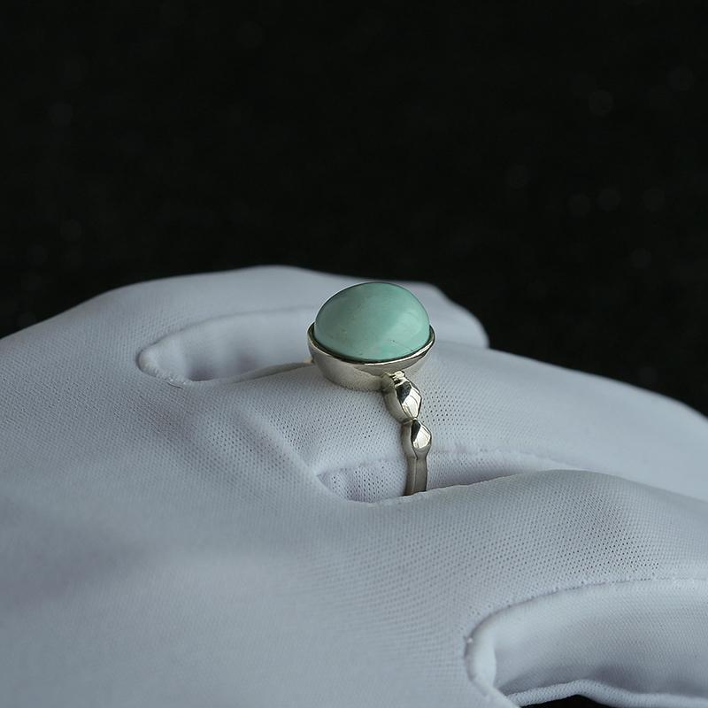 银镶绿松石戒指第7张