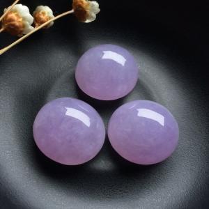 糯冰种紫罗兰戒面/胸坠面(一批走)