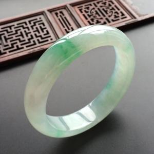 冰种飘翠手镯(57.9mm)