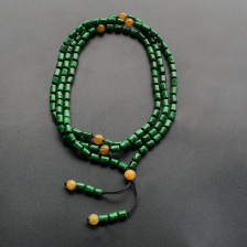 细糯种浓绿项链/手链