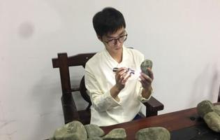 缅甸买翡翠被骗经历,成就了彭子华专业翡翠鉴定师能力