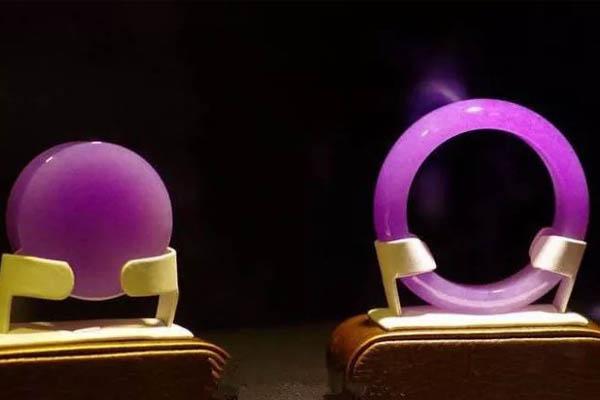 皇家紫翡翠手镯