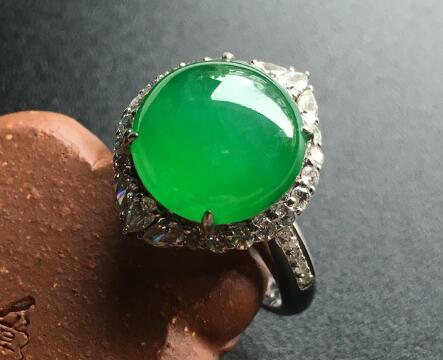 最全的镶金翡翠戒指知识,记得收藏!