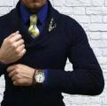 男士可以佩戴翡翠胸针吗?那要看你有没有搭配技巧!