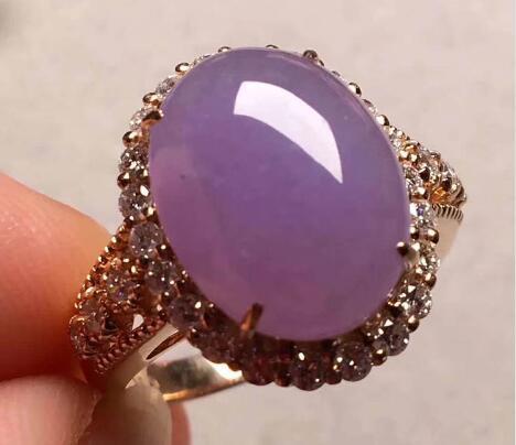 紫罗兰糯种蛋面翡翠戒指.jpg