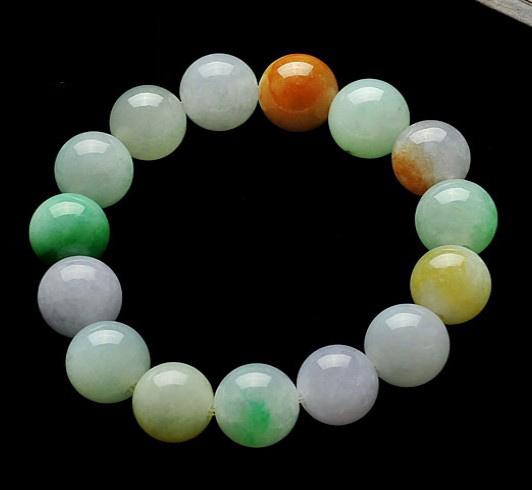 翡翠串珠手链的选购方法,三点简单来了解一下!