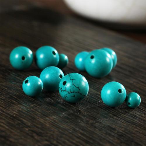 有没有绿松石圆珠重量对照表呢?教你挑选圆珠重量