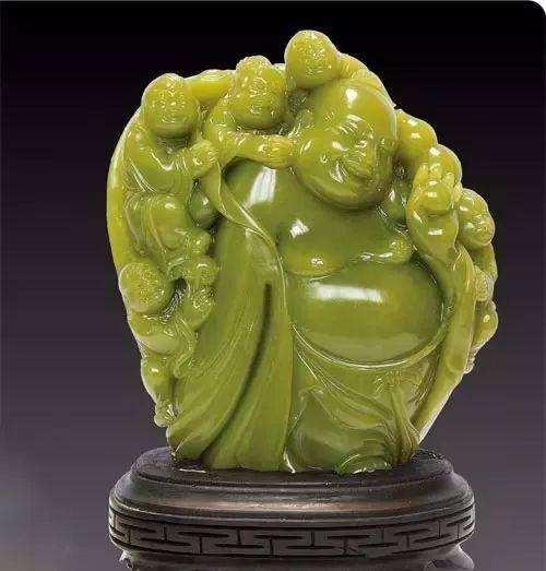 真正的寿山石艾叶绿,寿山石中珍品