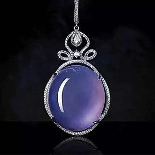 翡翠紫罗兰紫色等级