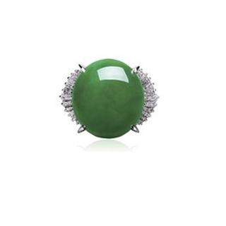 翡翠阳绿冰种蛋面多少钱