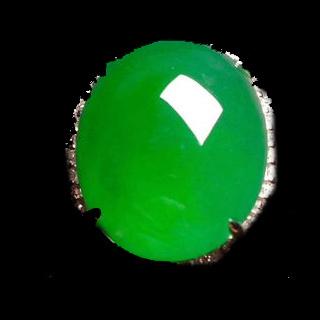 高冰阳绿翡翠价值