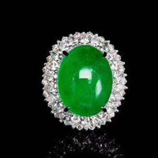 翡翠極品祖母綠和帝王綠的區別