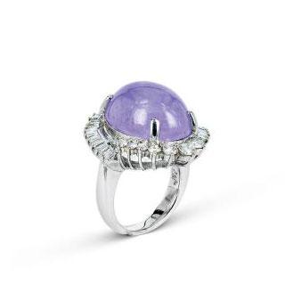 翡翠紫罗兰冰种