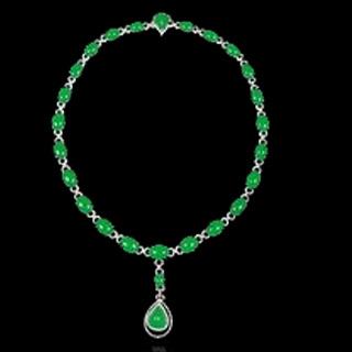 翡翠玻璃种珠子值钱吗