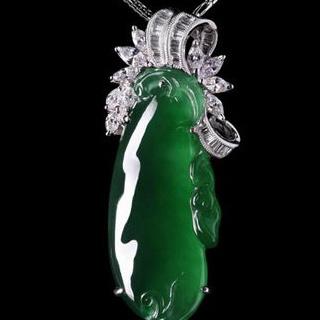 玻璃种翡翠绿价格