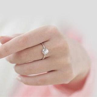 女戒指戴法