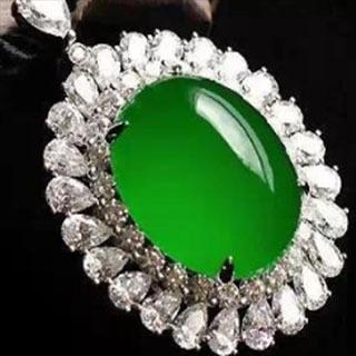 翡翠的帝王绿色属于什么种水
