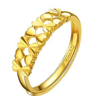 戒指女戴法