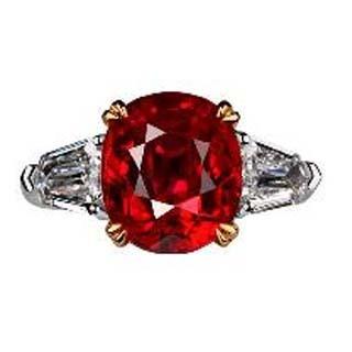 红宝石分几个等级
