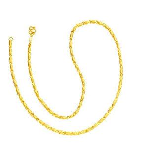 女士黄金项链一般多少克