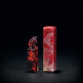 除了鸡血石还有什么红色的石料