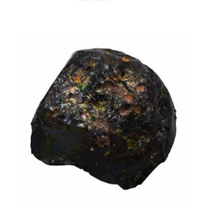 黑玻璃陨石有晶体的吗