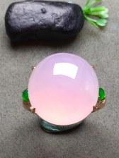 紫罗兰戒指,种水一流!