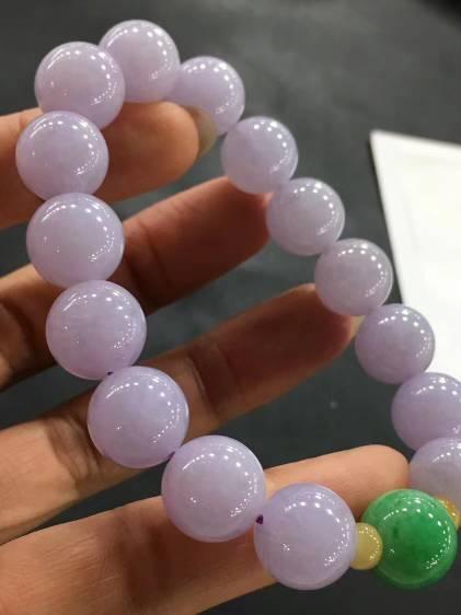 紫罗兰手串, 12.5mm、 16粒  ☺️☺️